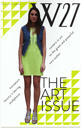 W27: The Art Issue
