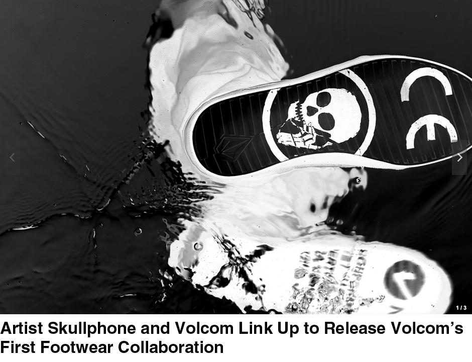 Skullphone X Volcom