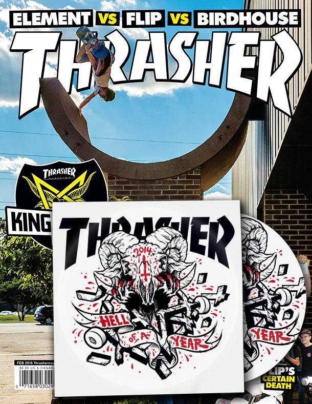 Thrasher Magazine, February 2015 Cover