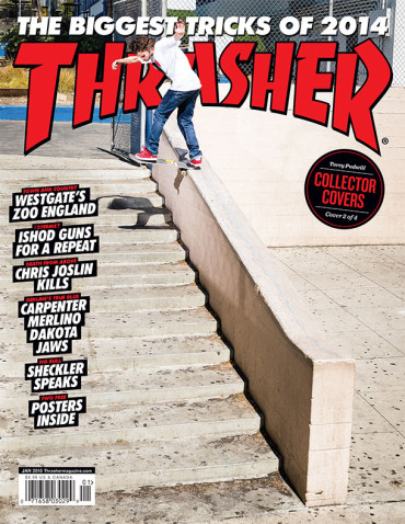 January '15 Thrasher x Volcom