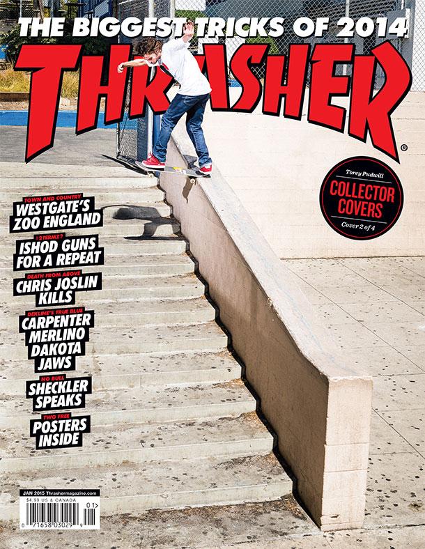Thrasher Magazine, January '15 Cover