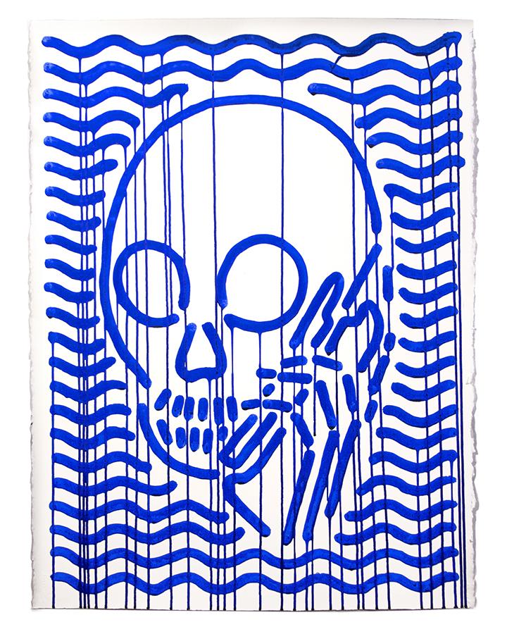 Skullphone Cobalt